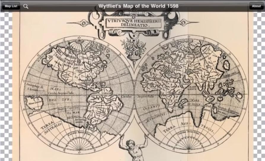 Карты мира Гиперборея