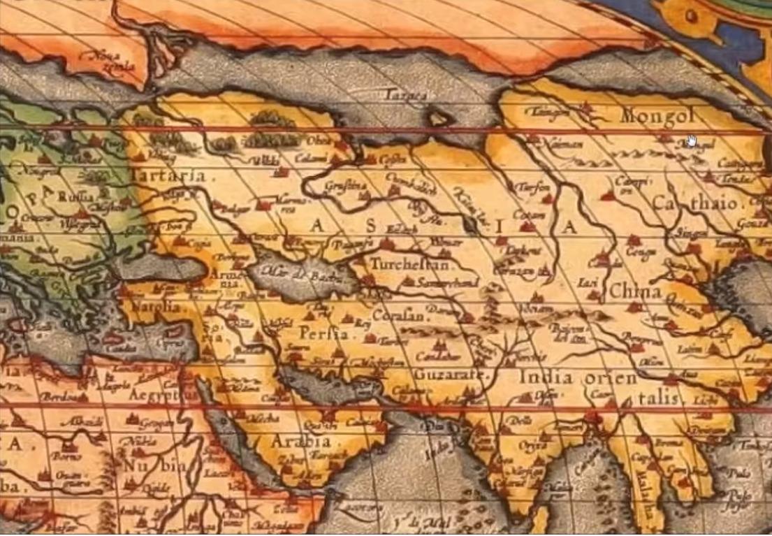 Гиперборея на карте мира