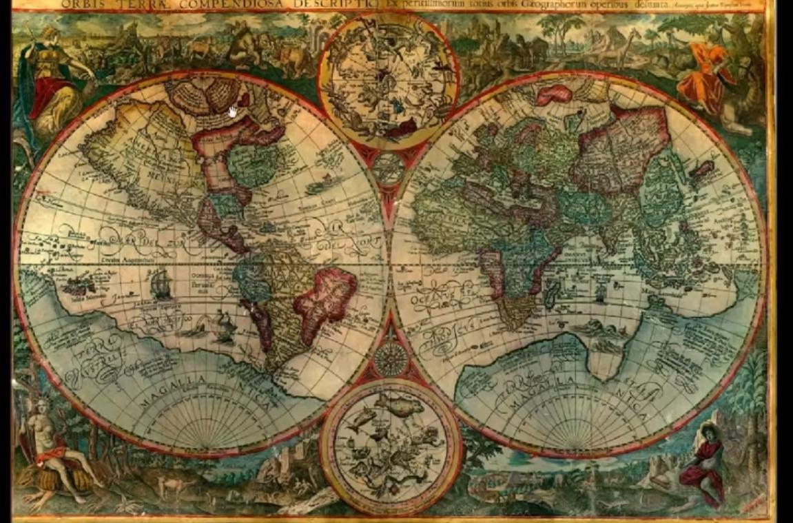 Карты Гипербореи